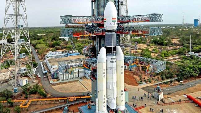 अवकाशात झेपावण्यासाठी 'चांद्रयान-२' सज्ज!